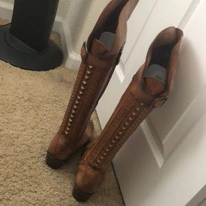 Leather over the knee Vince Camuto boots